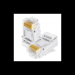 Conector RJ45 CAT 6 UTP - OEM